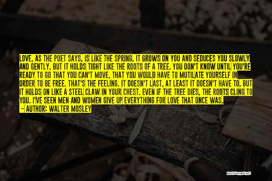 Love Like Tree Quotes By Walter Mosley