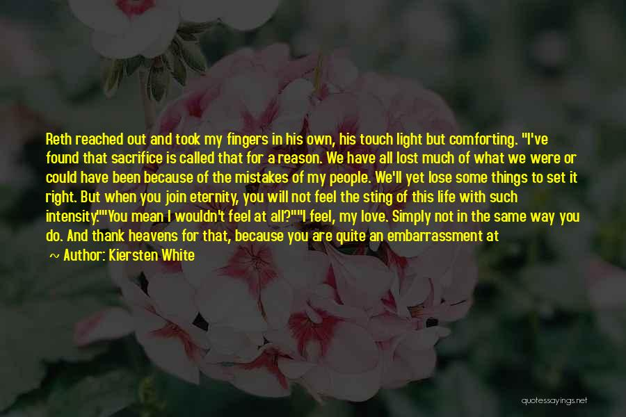 Love Lost And Then Found Quotes By Kiersten White