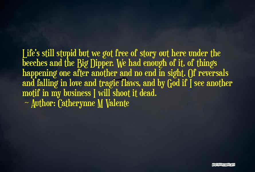 Love Me For My Flaws Quotes By Catherynne M Valente