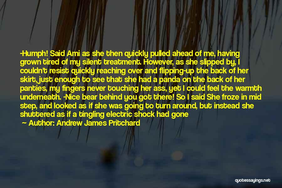 Love Me Like Never Before Quotes By Andrew James Pritchard