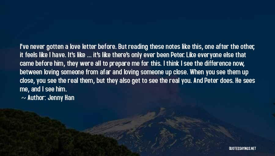 Love Me Like Never Before Quotes By Jenny Han