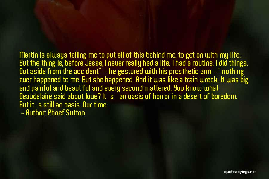 Love Me Like Never Before Quotes By Phoef Sutton