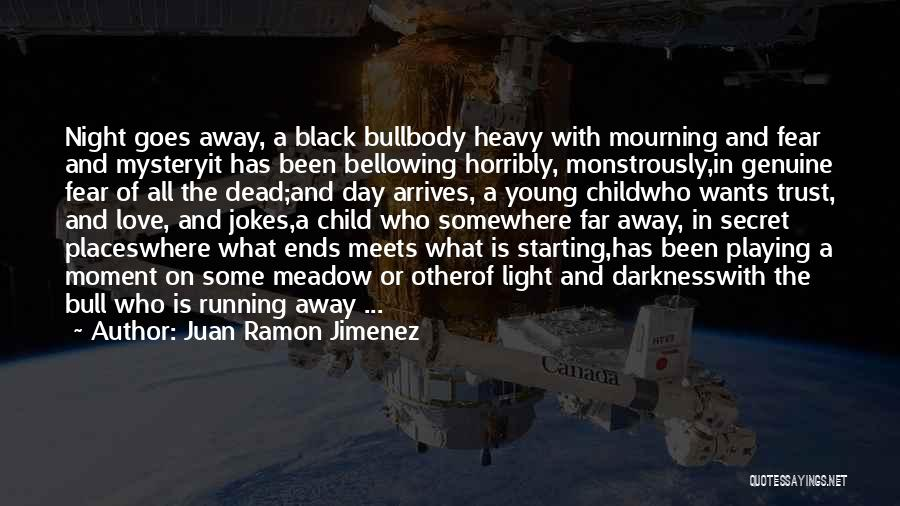 Love Meadow Quotes By Juan Ramon Jimenez
