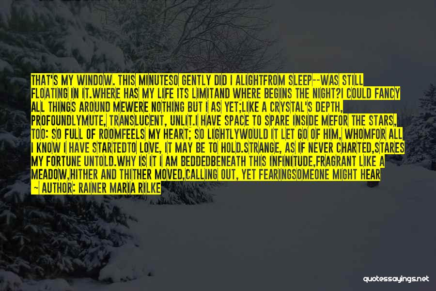 Love Meadow Quotes By Rainer Maria Rilke