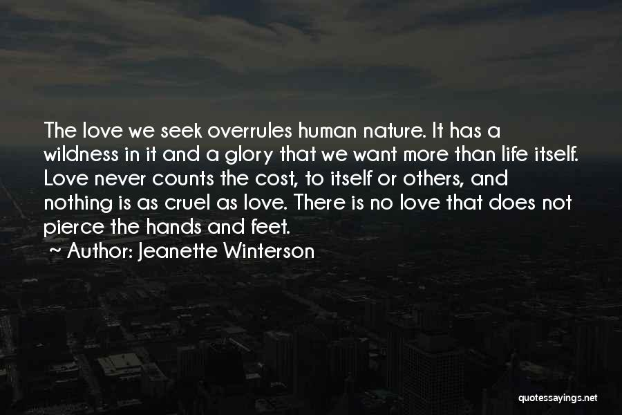 Love More Than Life Quotes By Jeanette Winterson