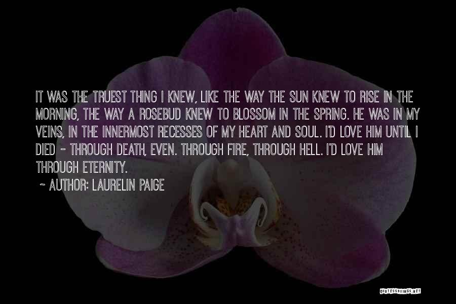 Love Morning Quotes By Laurelin Paige