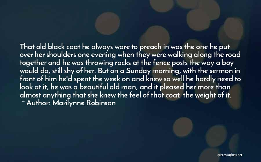 Love Morning Quotes By Marilynne Robinson