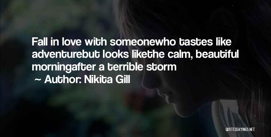 Love Morning Quotes By Nikita Gill