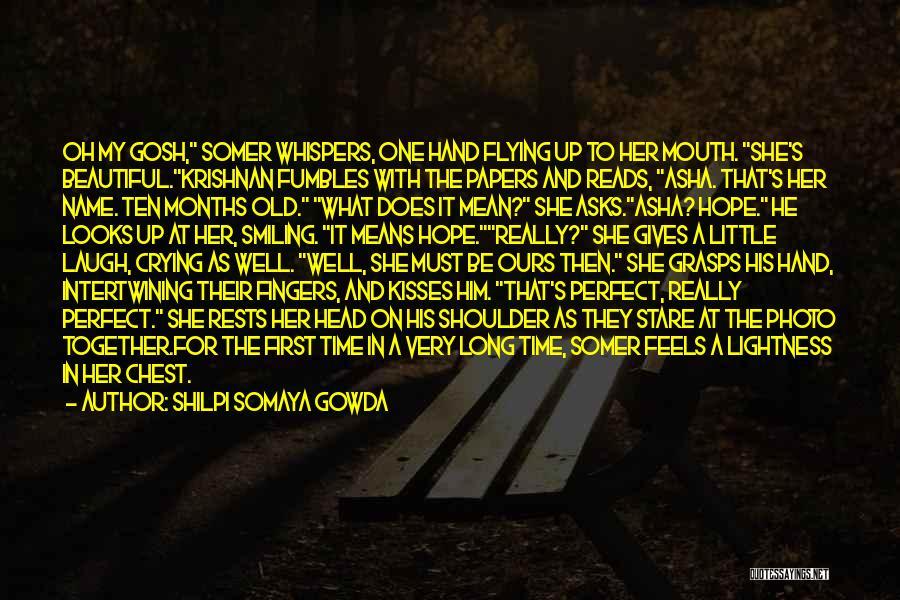 Love Morning Quotes By Shilpi Somaya Gowda