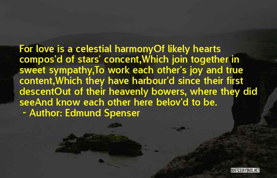 Love N Stars Quotes By Edmund Spenser