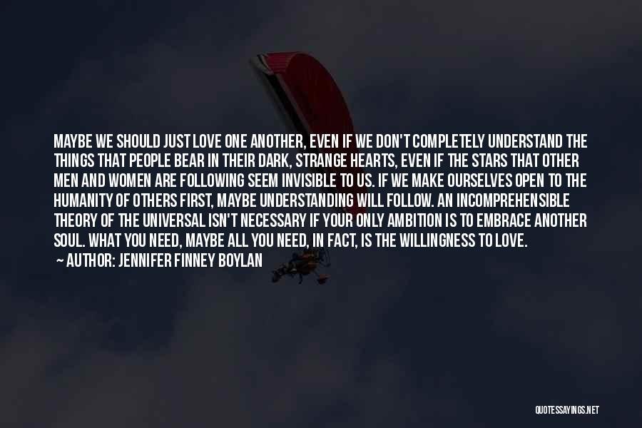Love N Stars Quotes By Jennifer Finney Boylan