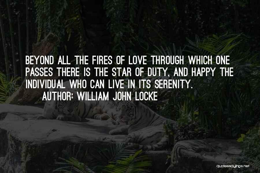 Love N Stars Quotes By William John Locke