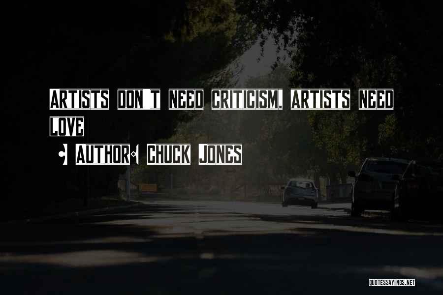 Love Needs Quotes By Chuck Jones