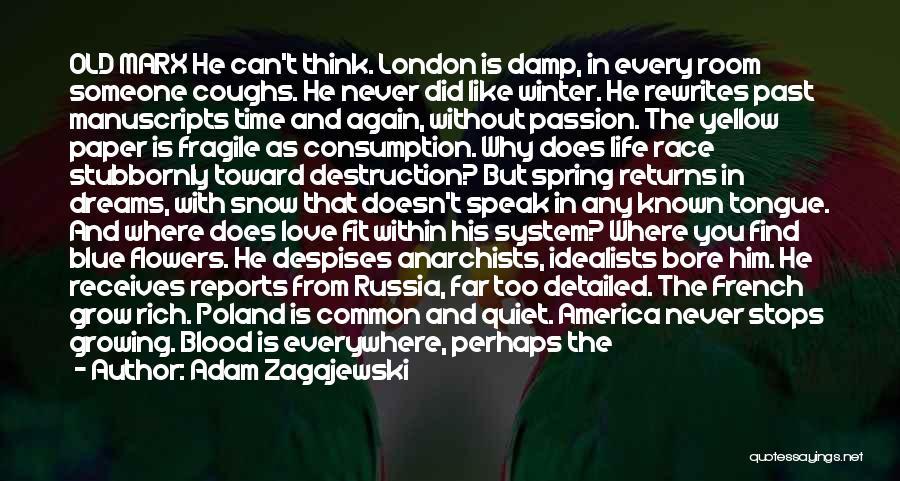 Love Needs Time To Grow Quotes By Adam Zagajewski