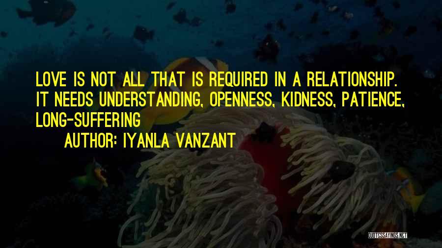 Love Needs Understanding Quotes By Iyanla Vanzant