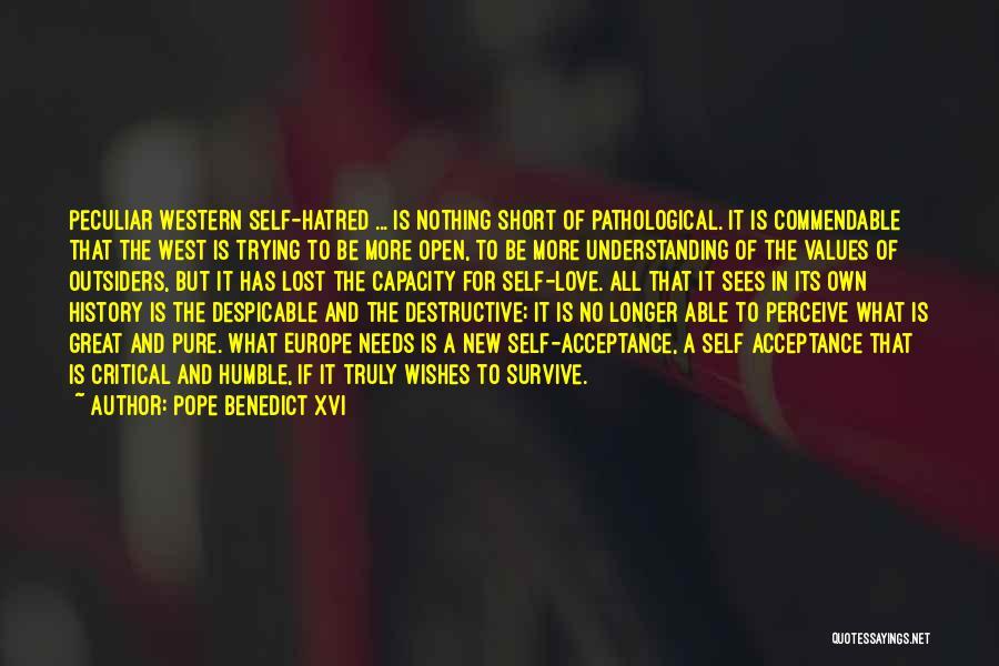 Love Needs Understanding Quotes By Pope Benedict XVI