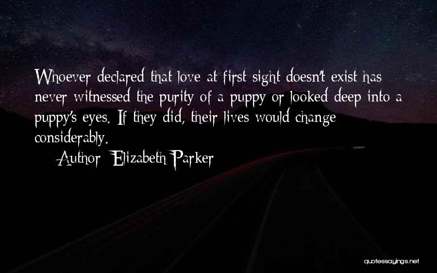 Love Never Exist Quotes By Elizabeth Parker