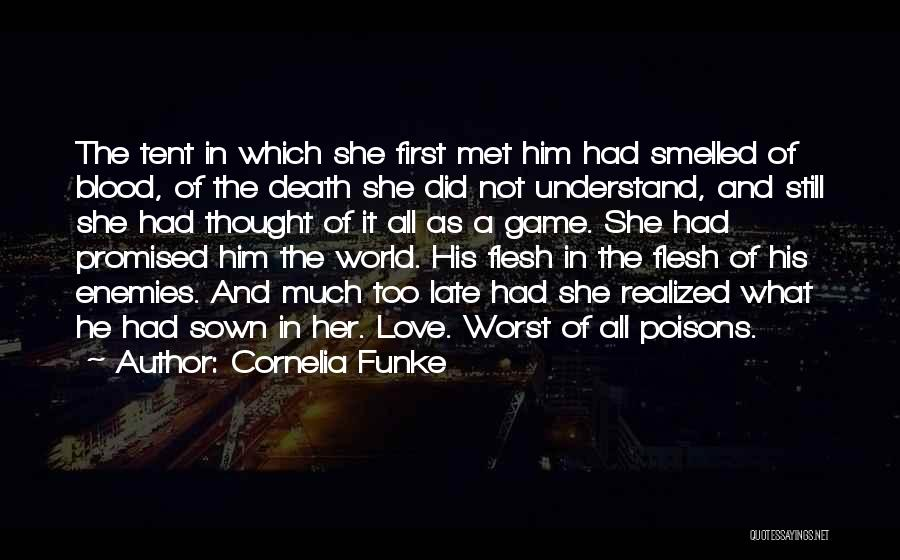 Love Not A Game Quotes By Cornelia Funke