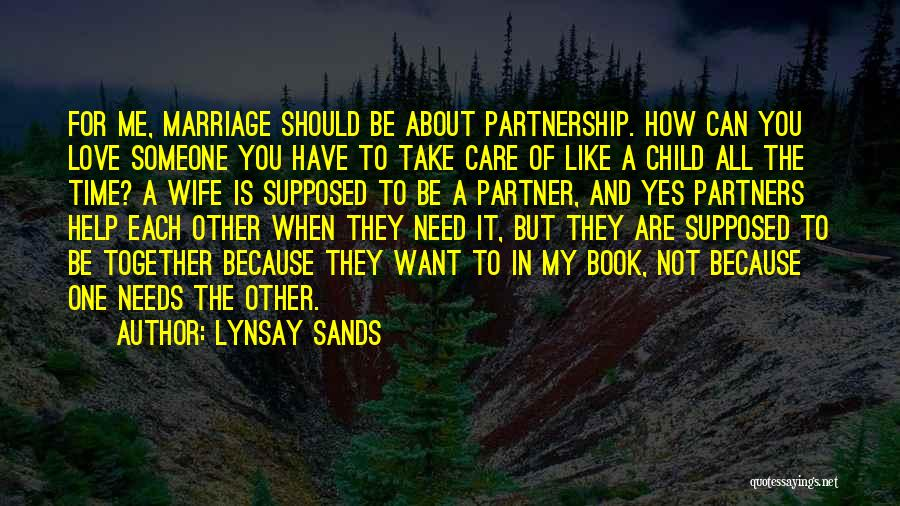 Love Not For Me Quotes By Lynsay Sands