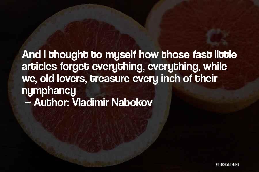 Love Nymph Quotes By Vladimir Nabokov