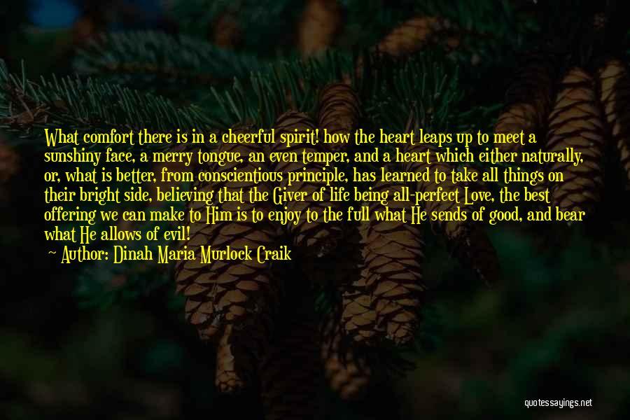 Love Offering Quotes By Dinah Maria Murlock Craik