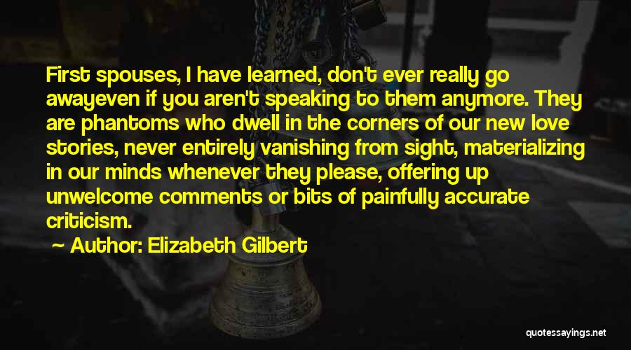 Love Offering Quotes By Elizabeth Gilbert