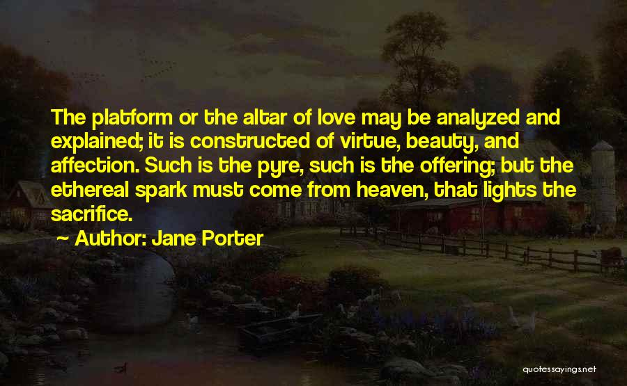 Love Offering Quotes By Jane Porter