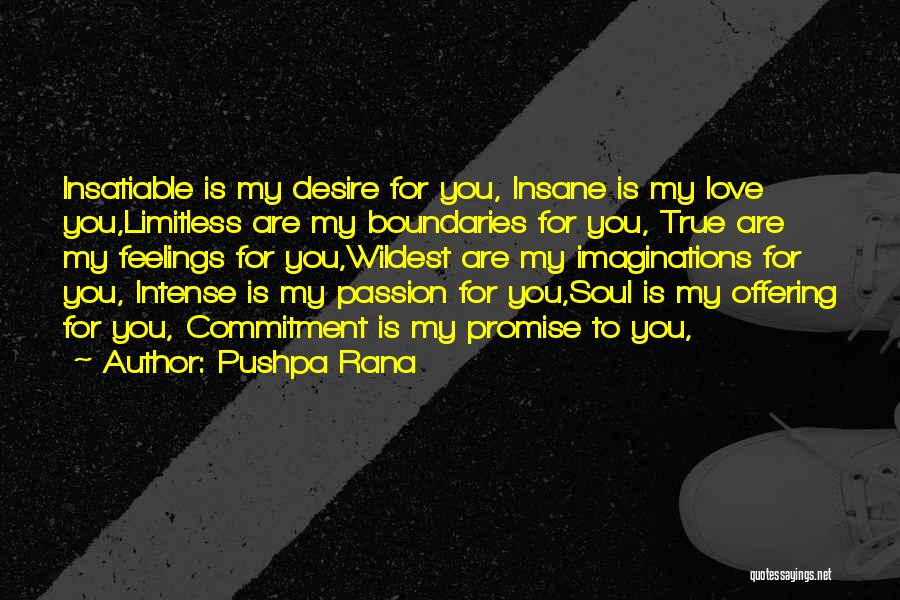 Love Offering Quotes By Pushpa Rana