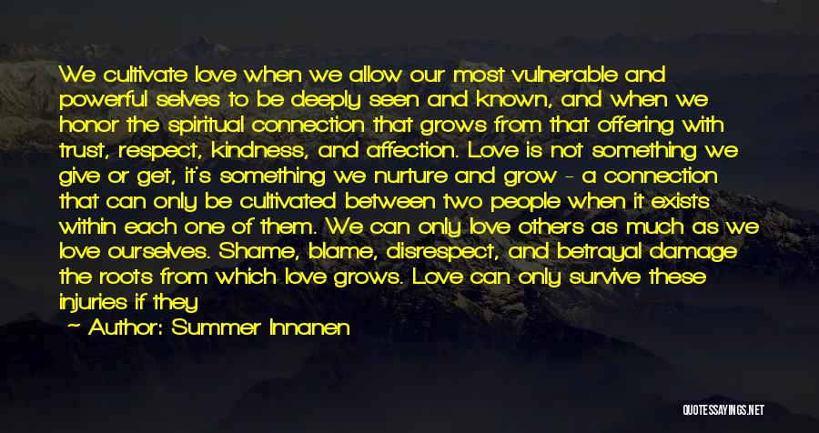 Love Offering Quotes By Summer Innanen