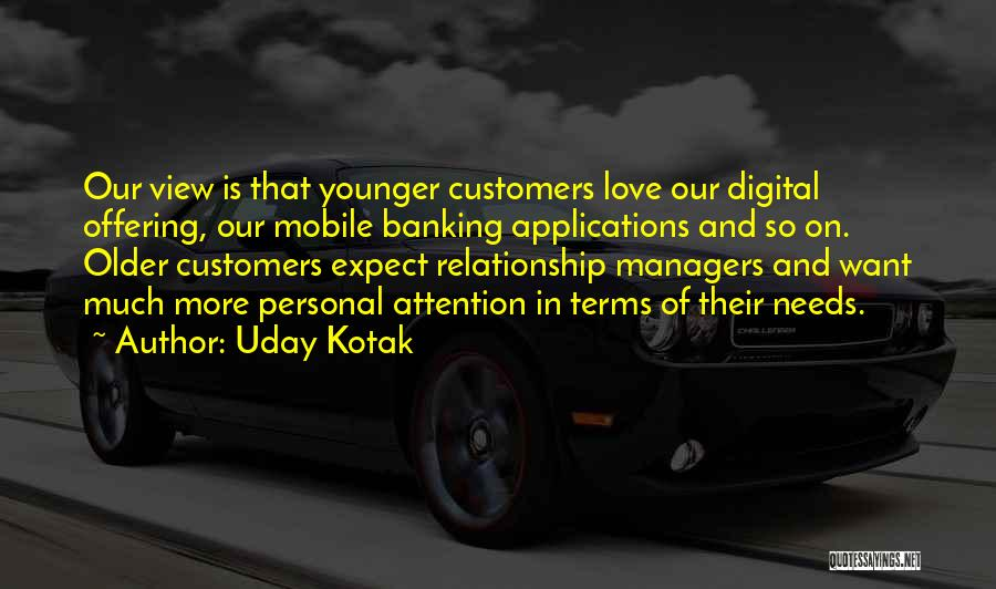 Love Offering Quotes By Uday Kotak