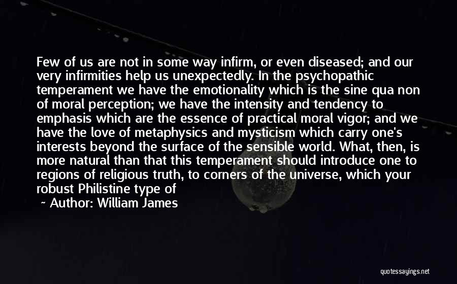 Love Offering Quotes By William James