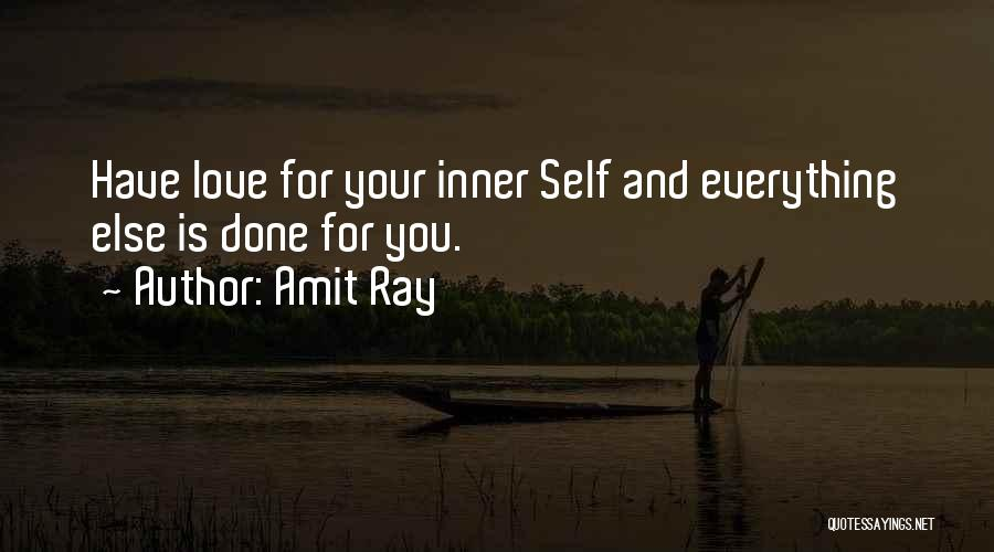 Love Peace And Happiness Quotes By Amit Ray