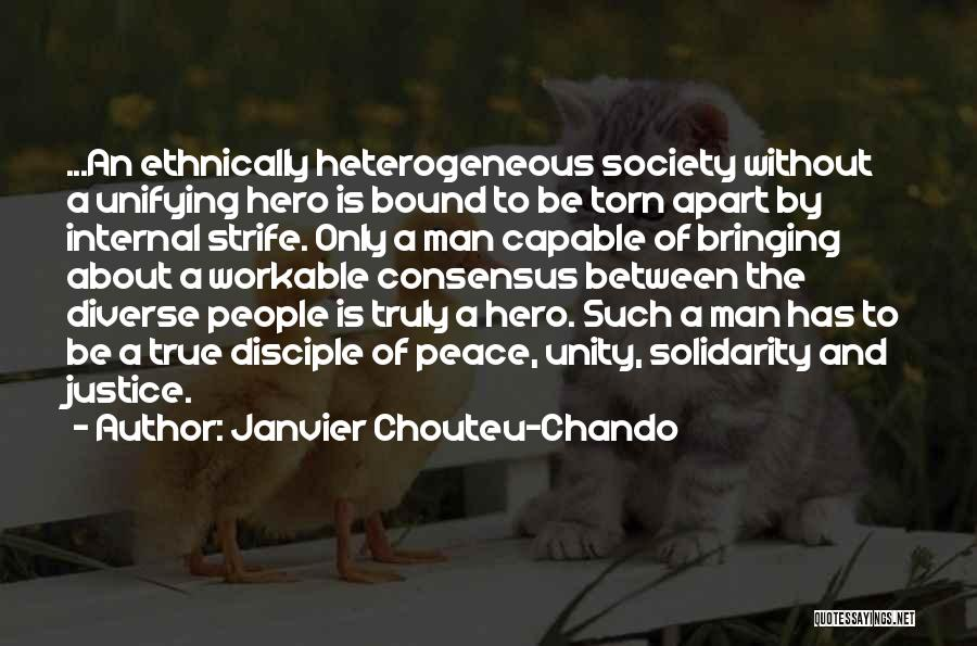 Love Peace And Happiness Quotes By Janvier Chouteu-Chando