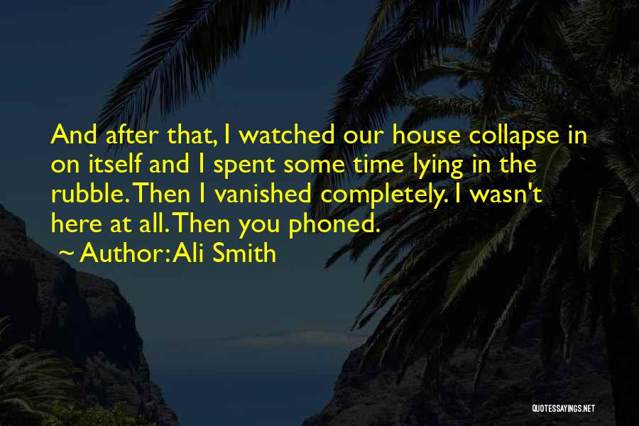 Love Poetic Quotes By Ali Smith