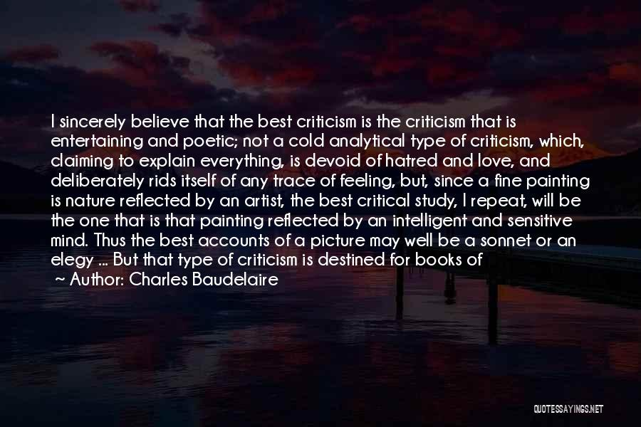 Love Poetic Quotes By Charles Baudelaire