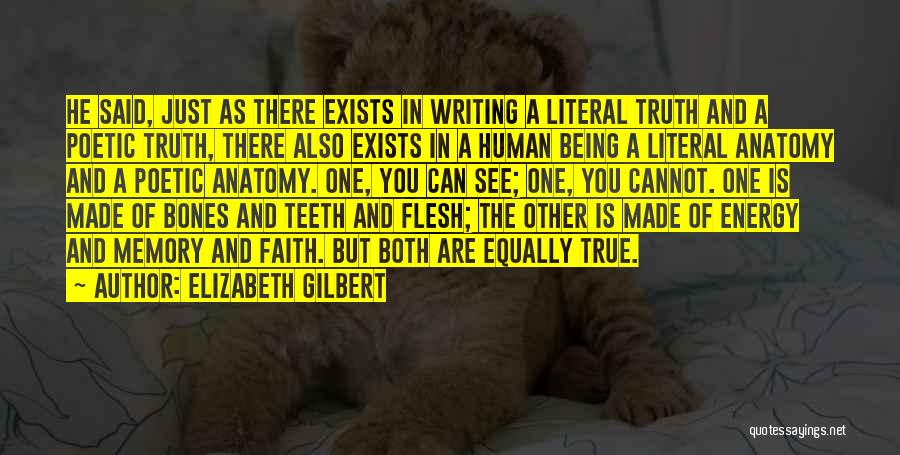Love Poetic Quotes By Elizabeth Gilbert