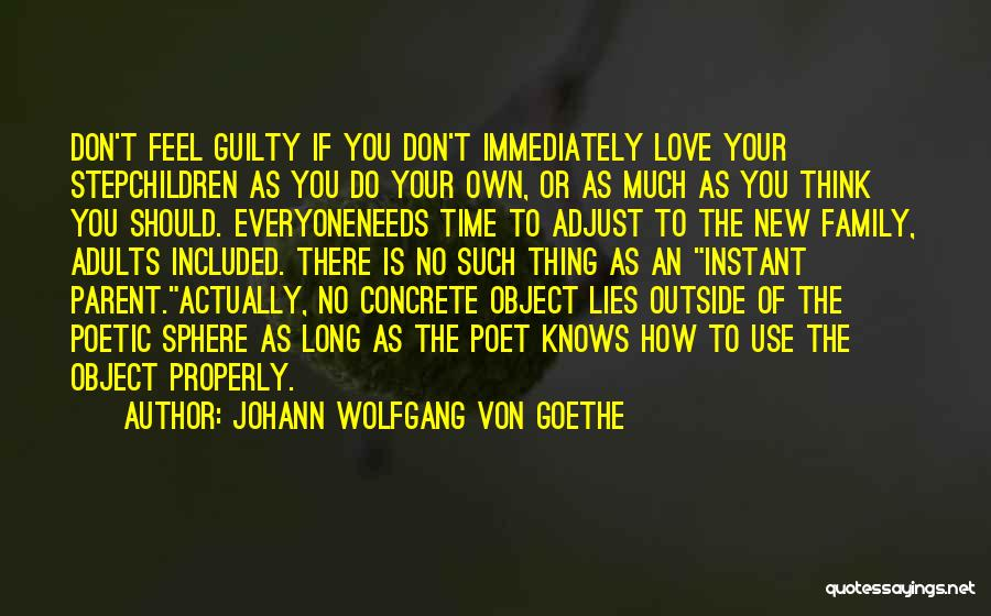 Love Poetic Quotes By Johann Wolfgang Von Goethe