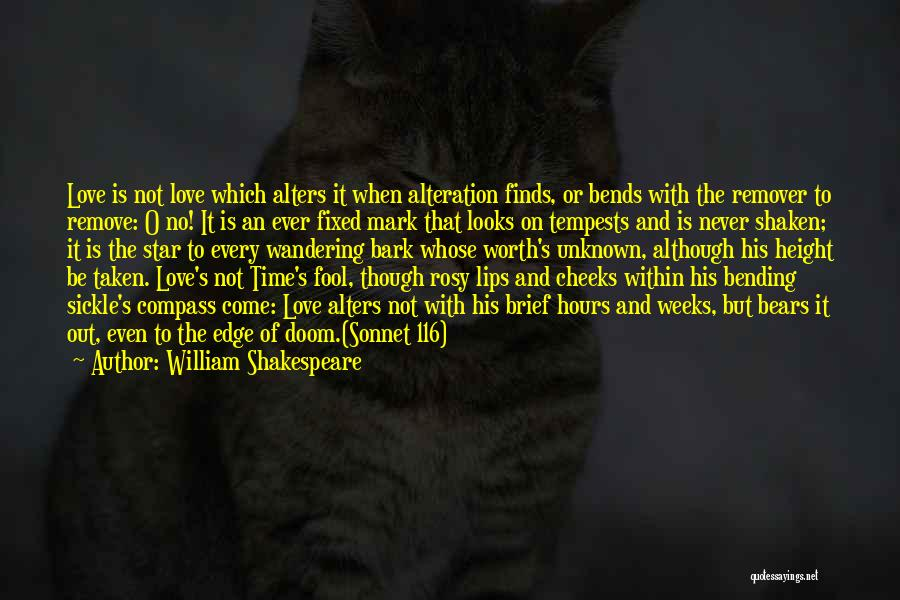Love Poetic Quotes By William Shakespeare