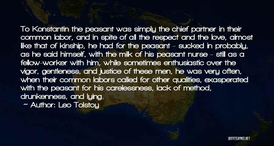 Love Probably Quotes By Leo Tolstoy
