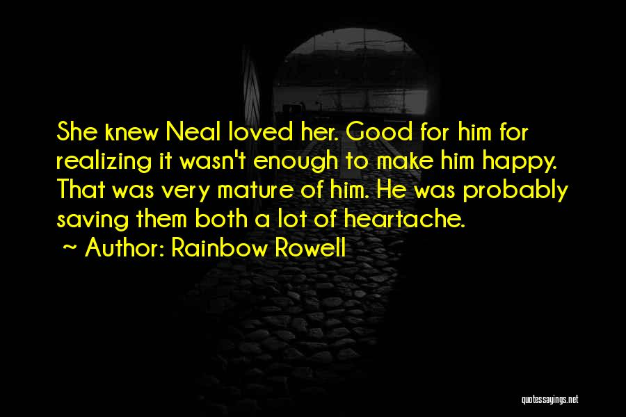 Love Probably Quotes By Rainbow Rowell
