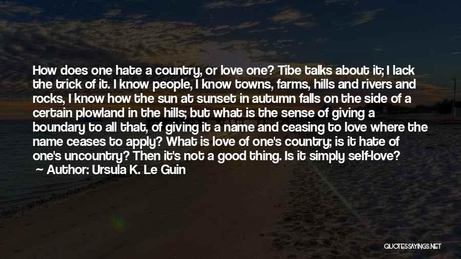 Love Profession Quotes By Ursula K. Le Guin