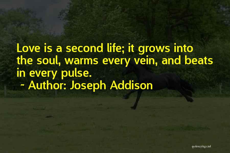 Love Pulse Quotes By Joseph Addison