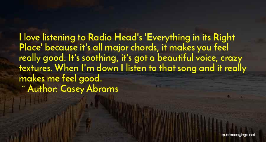 Love Radio Quotes By Casey Abrams
