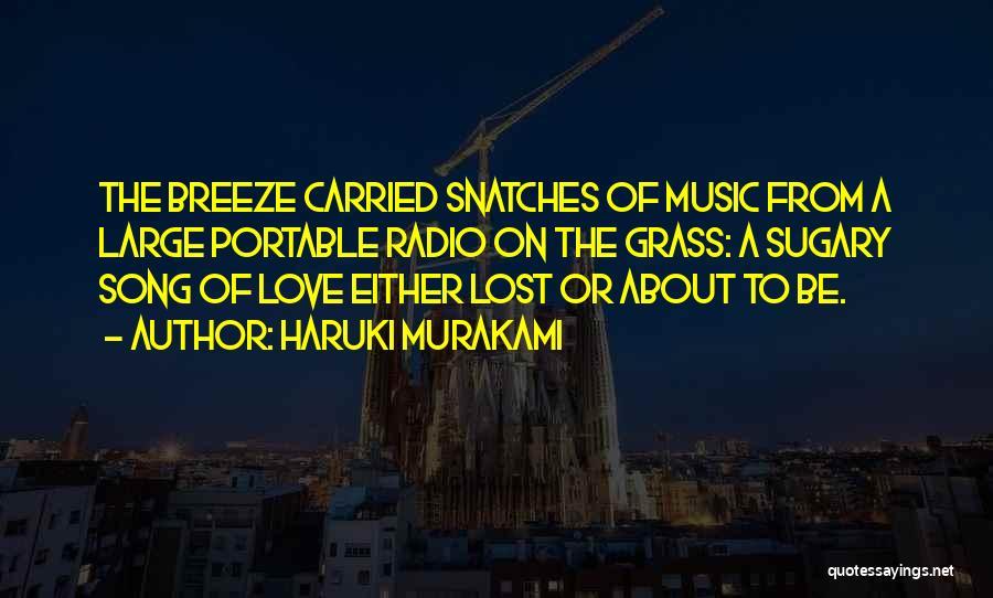Love Radio Quotes By Haruki Murakami