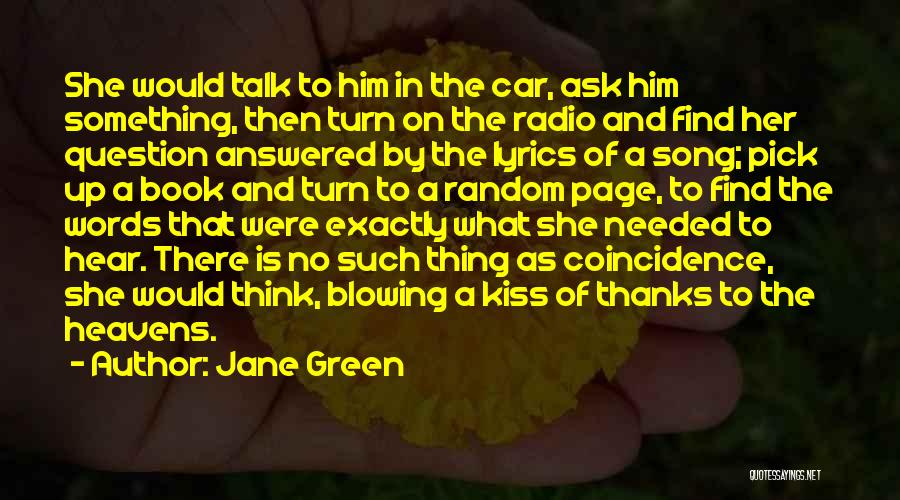 Love Radio Quotes By Jane Green