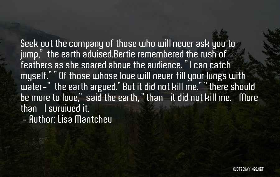 Love Remembered Quotes By Lisa Mantchev