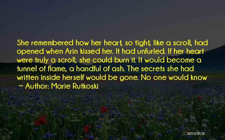 Love Remembered Quotes By Marie Rutkoski