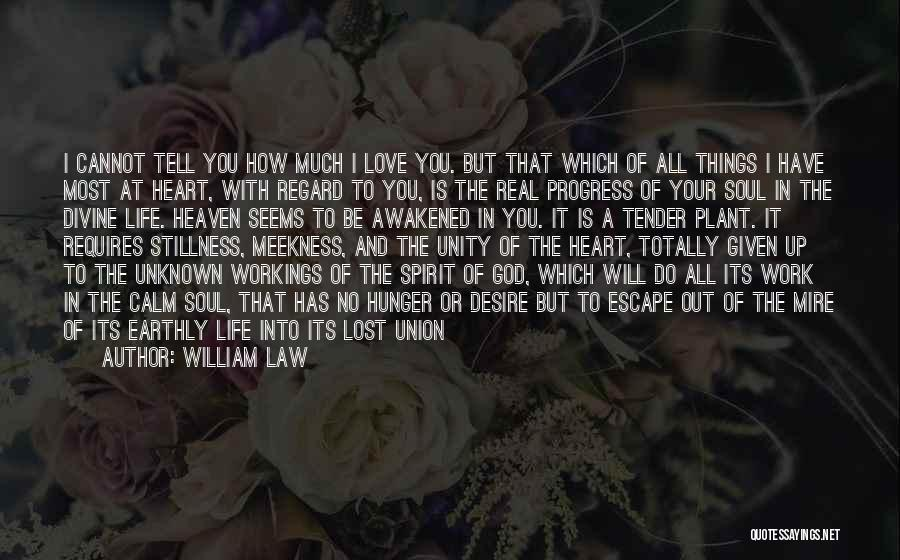 Love Requires Work Quotes By William Law