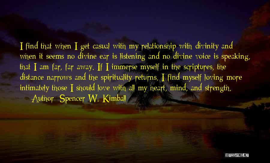 Love Returns Quotes By Spencer W. Kimball