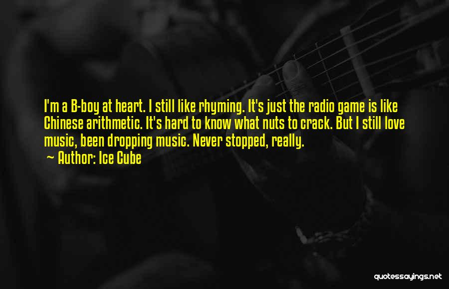 Love Rhyming Quotes By Ice Cube